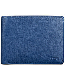 Tumi Men's Double Billfold Leather Wallet