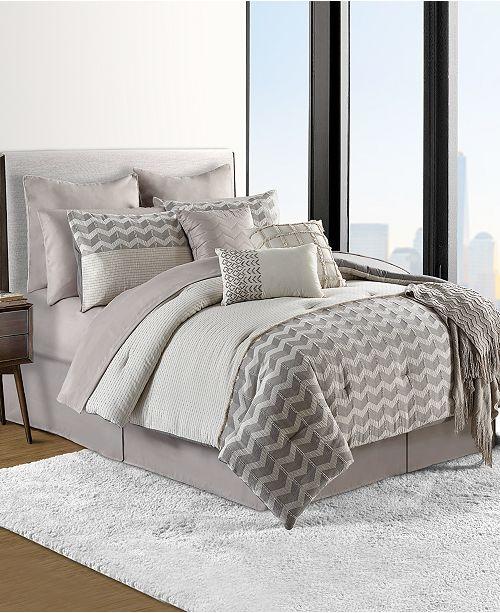 Comforter Sets.Finn 14 Pc Cotton Comforter Sets