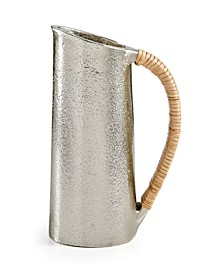 Small Textured Silver Metal Creamer, Created for Macy's
