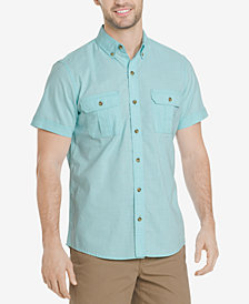 G.H. Bass & Co. Men's Salt Cove Crosshatch Pocket Shirt