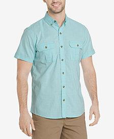 G.H. Bass & Co. Men's Salt Cove Crosshatch Pocket Shirt