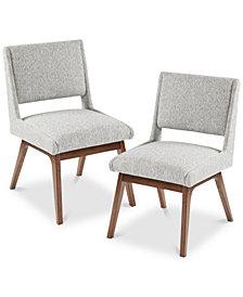 Boomerang Dining Chair (Set Of 2), Quick Ship
