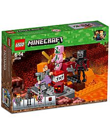 LEGO® Minecraft The Nether Fight 21139