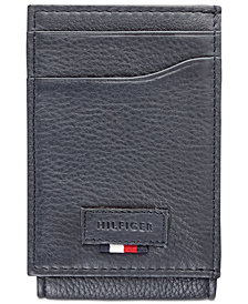 Tommy Hilfiger Men's Gus Leather Pocket Wallet