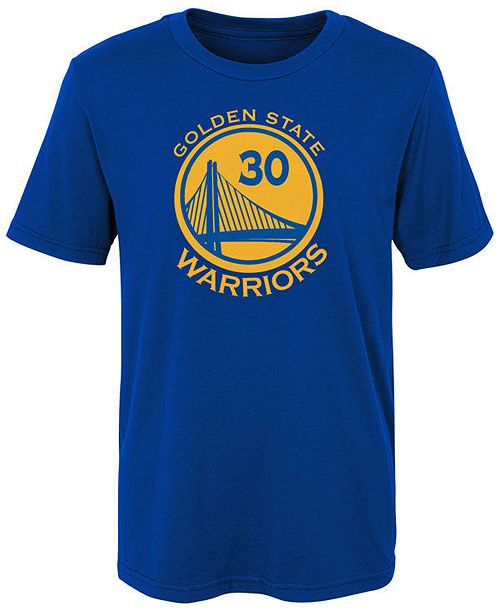 Nike Stephen Curry Golden State Warriors Replica Name   Number T-Shirt 5f3f80367