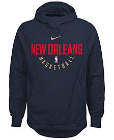 Nike New Orleans Pelicans Elite Practice Hoodie, Big Boys (8-20)