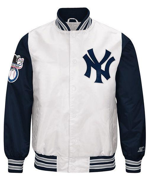 G-III Men's Sports New York Yankees The Legend Starter Jacket