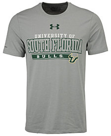 Under Armour Men's South Florida Bulls College Classic Charged Cotton T-Shirt