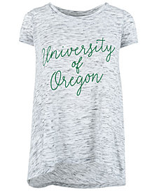 Royce Apparel Inc Women's Oregon Ducks Script Viscose Crew T-Shirt