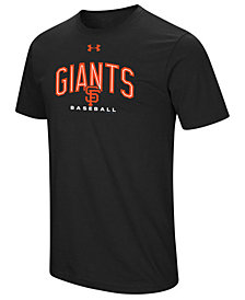 Under Armour Men's San Francisco Giants Performance Arch T-Shirt