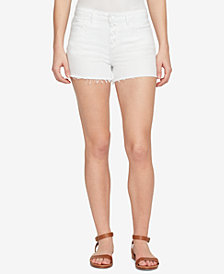 WILLIAM RAST Button-Up Denim Shorts