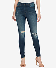 WILLIAM RAST Super-Skinny High-Rise Ripped Jeans