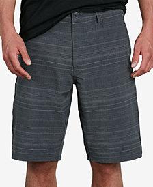 """Volcom Men's Frickin Slim-Fit Stretch 21"""" Hybrid Shorts"""