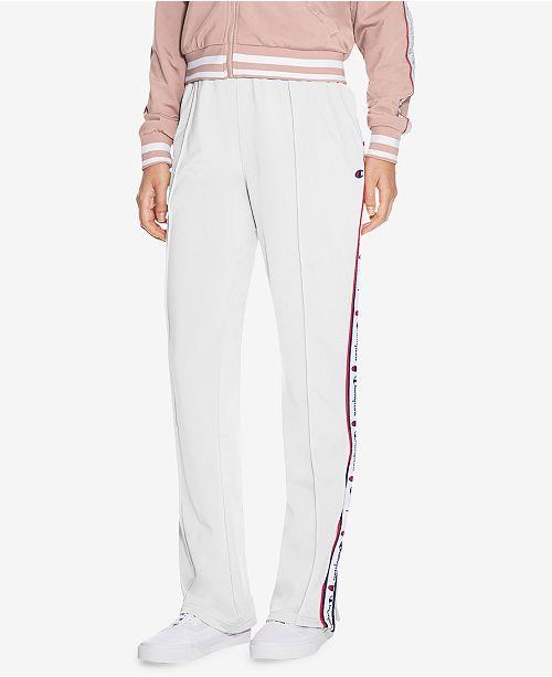 1432cec729d7 Champion Track Pants   Reviews - Pants   Capris - Women - Macy s