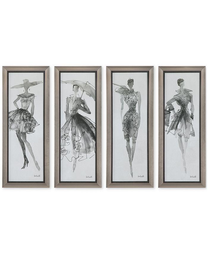 Uttermost - Fashion Sketchbook, Set of 4