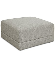 CLOSEOUT! Mylie Fabric Ottoman, Created For Macy's