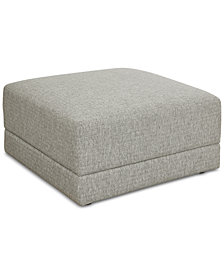 Mylie Fabric Ottoman, Created For Macy's