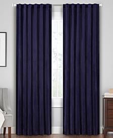 Velvet Rod Pocket/Tab Top Window Panels