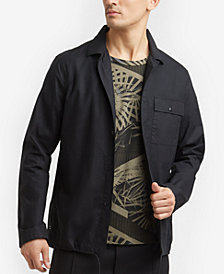 Kenneth Cole Men's Zip-Up Shirt Jacket