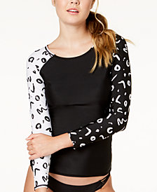 Volcom Tag Ur It Printed Long-Sleeve Rash Guard