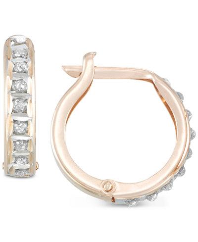 Diamond Fascination™ Diamond Accent Hoop Earrings
