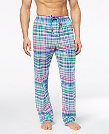 Polo Ralph Lauren Men's Woven Plaid Pajama Pants