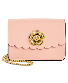 COACH Bowery Mini Crossbody with Tea Rose Turnlock