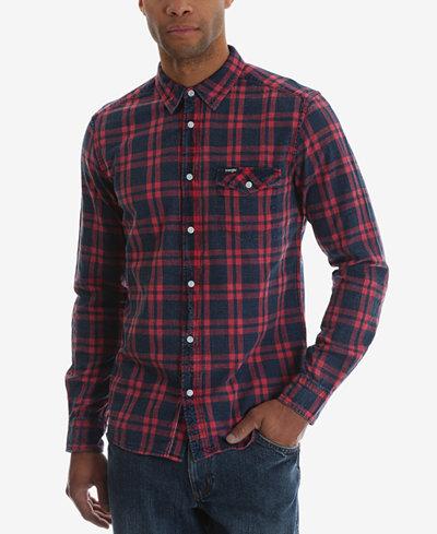 Wrangler Casual Long Sleeve Plaid Shirt