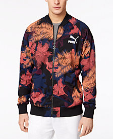 Puma Men's Summer Tropical Printed Track Jacket