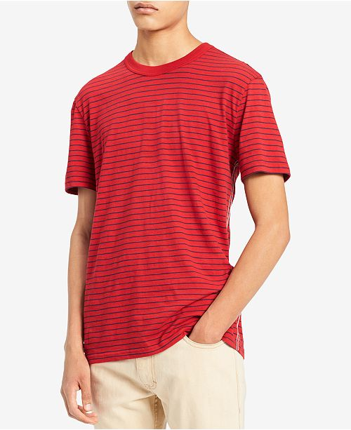 dd2fe7d82e Calvin Klein Jeans. Men s Stripe T-Shirt. Be the first to Write a Review.  main image  main image