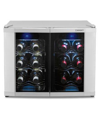 main image  sc 1 st  Macyu0027s & Cuisinart CWC-1200DZ Wine Cellar Dual Zone - Small Appliances ...