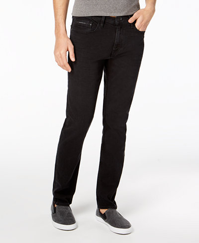 Calvin Klein Jeans Men's Straight Fit Stretch Jeans