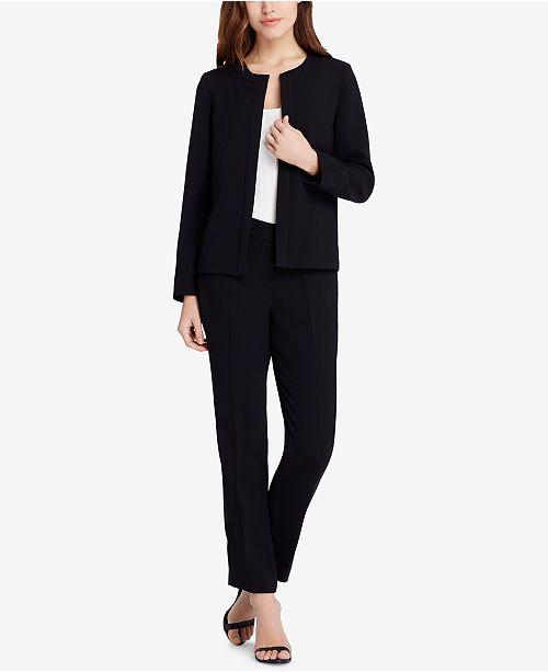 Lace-Up-Back Pantsuit