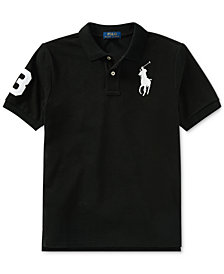 Ralph Lauren Big Boys Mesh Cotton Polo