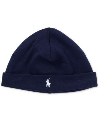 Ralph Lauren Baby Boys Cotton Hat