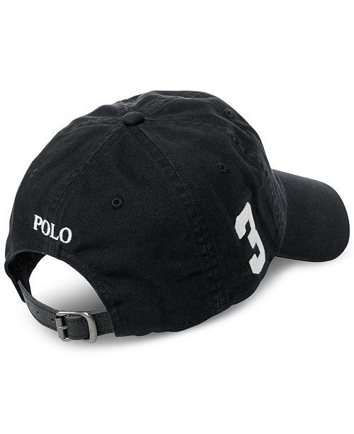 87c928d5ee2e1 Polo Ralph Lauren Men s Big Pony Chino Sports Hat   Reviews - Hats ...