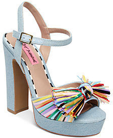 Betsey Johnson Mandy Dress Sandals