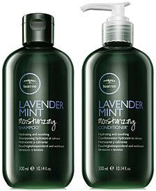 Paul Mitchell Tea Tree Lavender Mint Moisturizing Shampoo & Conditioner (Two Items), 10.14-oz., from PUREBEAUTY Salon & Spa
