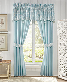 "Croscill Willa Canopy 54"" x 18"" Window Valance"