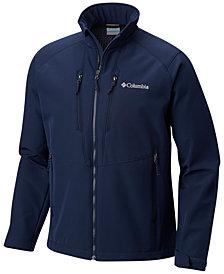 Columbia Men's Coyote Wall Full-Zip Soft-Shell Jacket