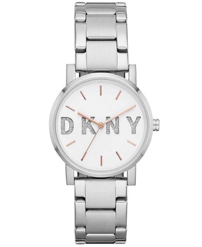 DKNY - Women's SoHo Stainless Steel Bracelet Watch 34mm