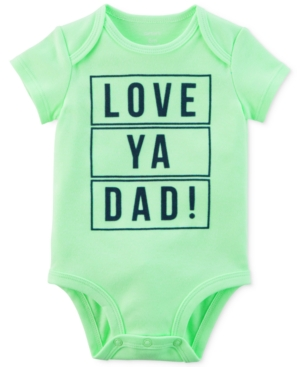 Carters Baby Boys Love Dad GraphicPrint Bodysuit