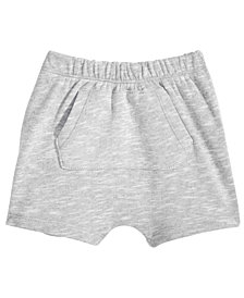 First Impressions Kangaroo-Pocket Shorts, Baby Boys, Created for Macy's