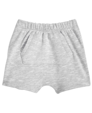 First Impressions KangarooPocket Shorts Baby Boys Created for Macys