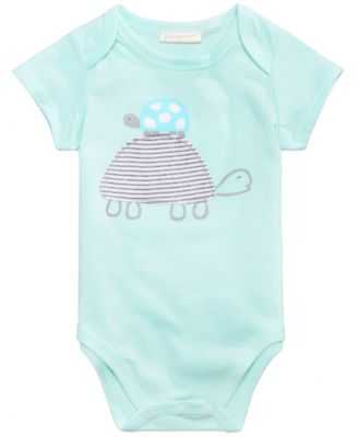Turtle Bodysuit, Baby Boys or Girls, Created for Macy's
