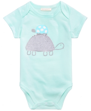 First Impressions Turtle Bodysuit Baby Boys or Girls Created for Macys