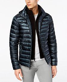 Calvin Klein Men's Packable Hooded Puffer Jacket