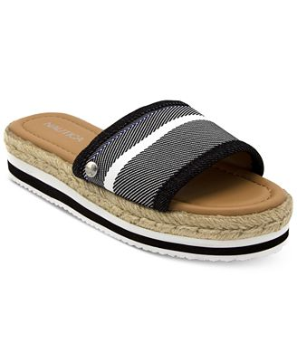 Nautica Tidegate Slip-On Espadrille Flatform Sandals Women's Shoes