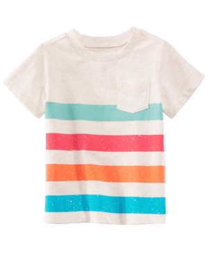 First Impressions Striped TShirt Baby Boys Created for Macys