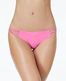 Sundazed Stunner Strappy Hipster Bikini Bottoms, Created for Macy's